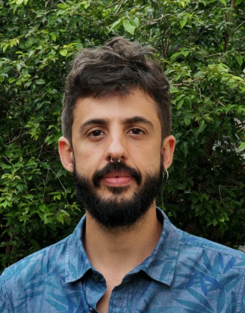 Foto de Isaac Pipano, coordenador do programa de audiovisual da Escola Porta Iracema das Artes